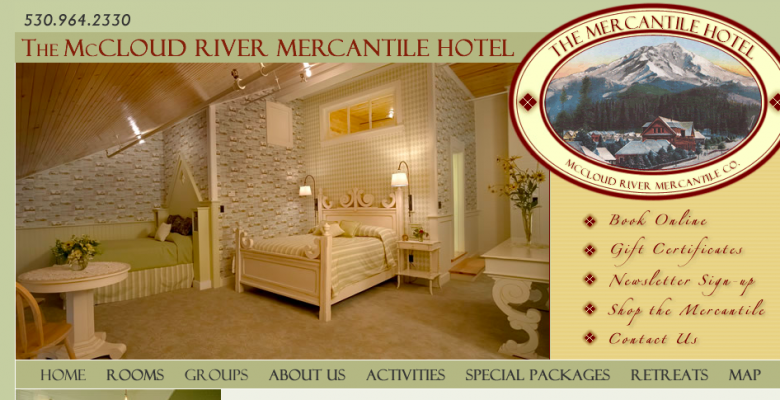 In the news: McCloud River Mercantile Hotel, Niger, Giraffes