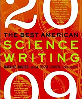 "My article, ""Looking Up,"" about Niger's last herd of wild, wild giraffes, is featured in this anthology of Best American Science Writing"