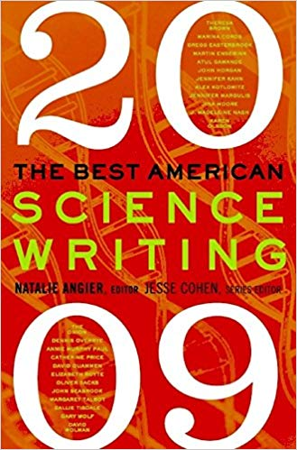 Best American Science Writing 2009 edited by Natalie Angier includes article about West Africa's wild, wild giraffes