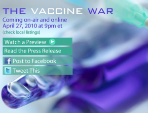 The Vaccine War on PBS Frontline