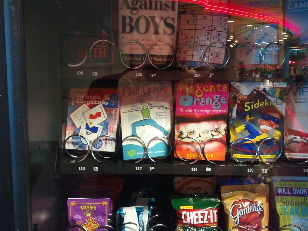 Publishing is thriving in America. The proof? You can even buy books in vending machines.
