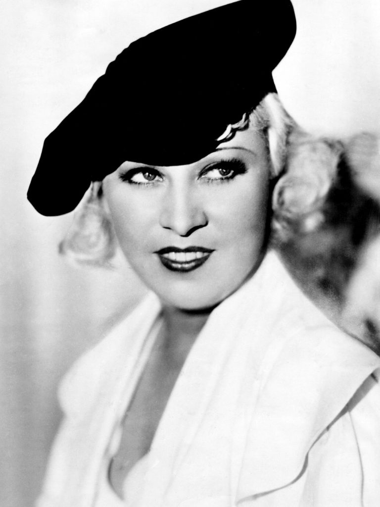 Circa 1932: Mae West (1892 - 1980) in her prime, an American leading lady and the archetypal sex symbol who was vulgar, mocking, overdressed and endearing. She wrote her own dialogue which was full of double entendre. (Photo by Hulton Archive/Getty Images)