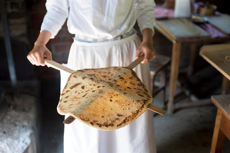 Norwegian flat bread fresh from the oven. It's delicious and easy to make. Photo courtesy of Visit Oslo | Jennifer Margulis, Ph.D.