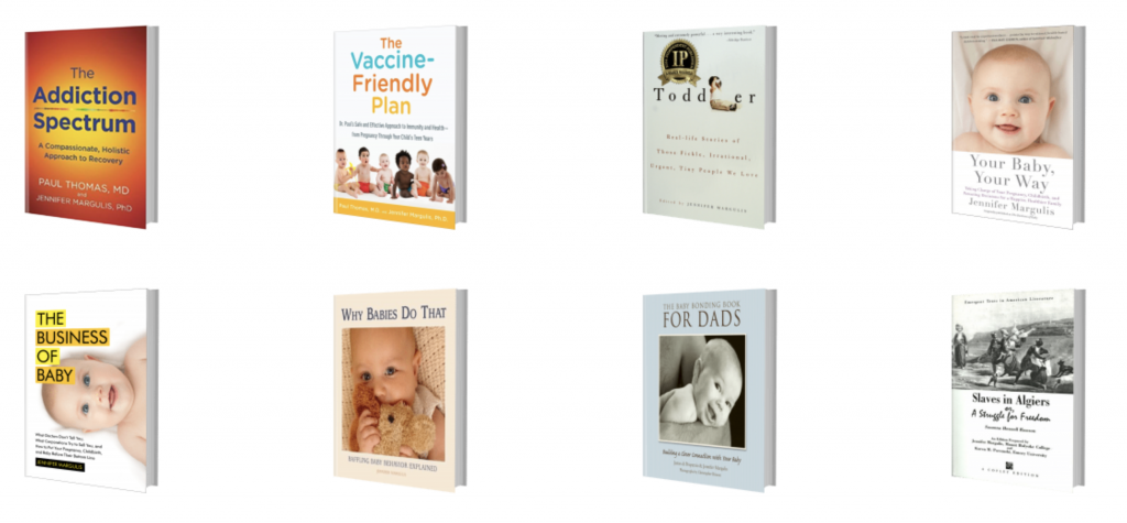 Books by Jennifer Margulis, PhD
