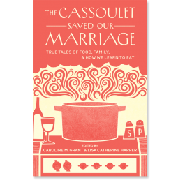 Cover of the book The Cassoulet Saved Our Marriage. Your Baby, Your Way is another book published the same year (under the title The Business of Baby). | Jennifer Margulis