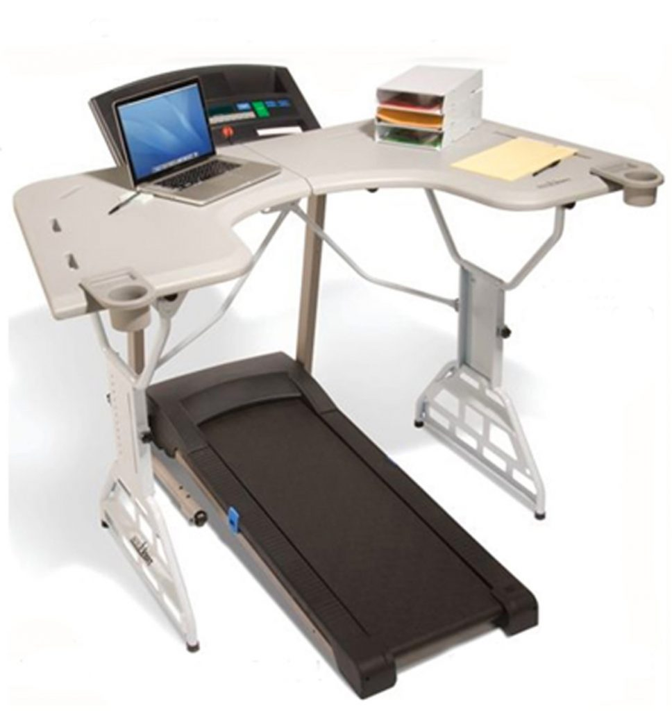 Don't sit down at work. Use a treadmill desk instead.