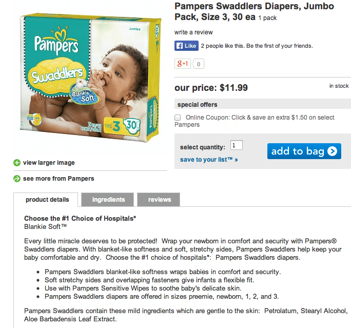 Pampers advertises diapers as having blanket-like softness. Plastic is not soft. This ad is a scam.