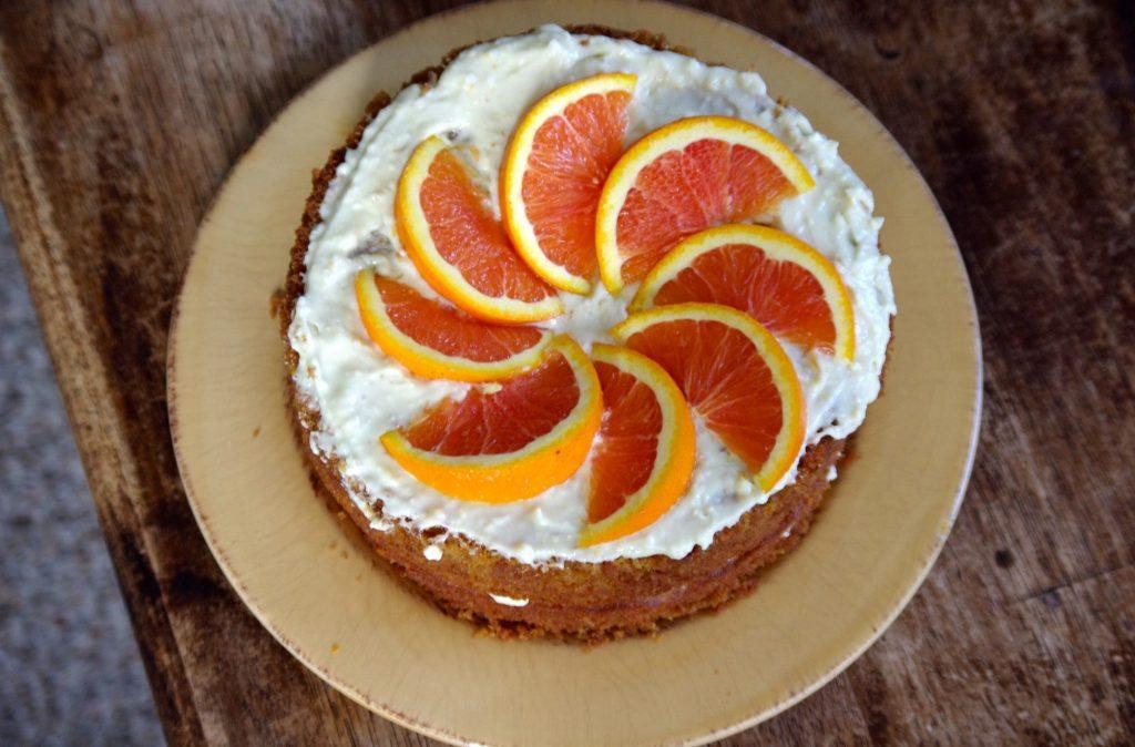 Agave sweetened orange cake. Best recipe ever | Jennifer Margulis