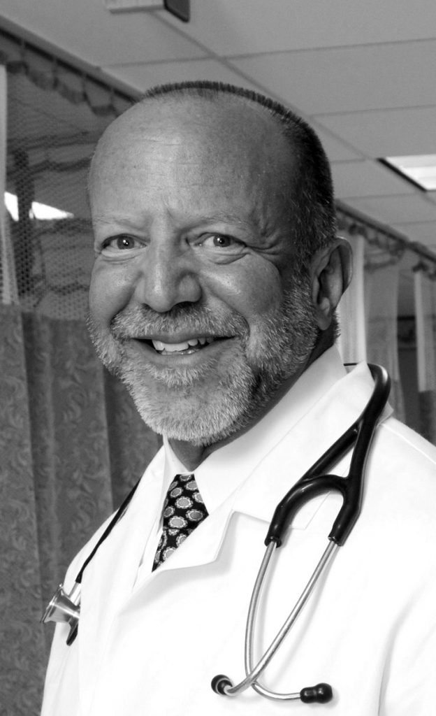 Dr. Mark Rosenberg is trying to make ERs more friendly and inviting for patients and doctors