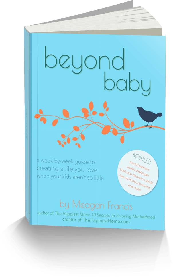 Meagan Francis's new book, Beyond Baby, helps moms figure out what they want to do with their lives once their children grow up.