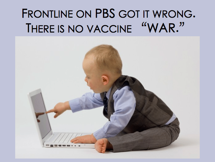 Despite the propaganda from the mainstream media, there is no vaccine war, only thoughtful parents making the best decisions they can for their families. Photo credit: www.flickr.com