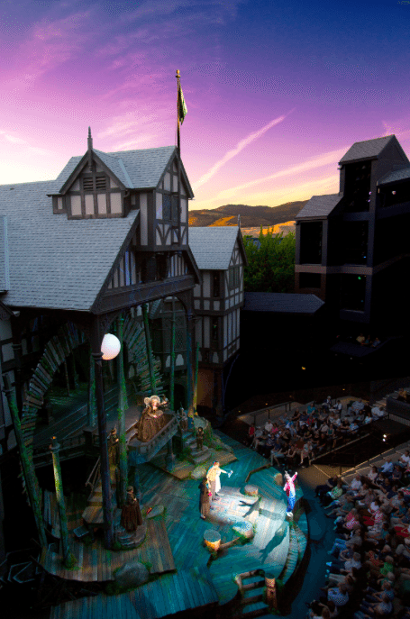Come to Ashland, Oregon to see a Shakespeare play