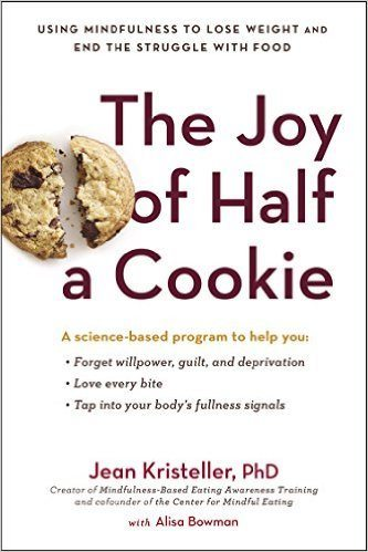 Cover of the book The Joy of Half a Cookie. Alisa Bowman cowrote it. She argues that ghostwriters make better lovers. | Jennifer Margulis, Ph.D.