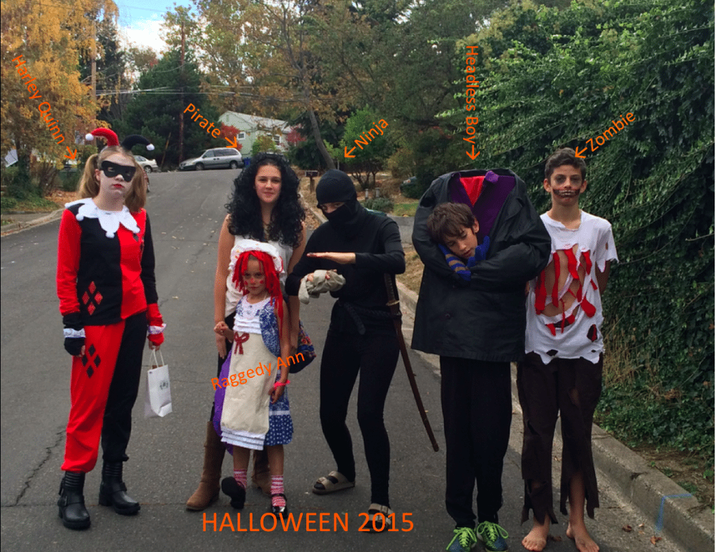 15 good things about 2015. Halloween 2015 was awesome. Photo credit: Jennifer Margulis.
