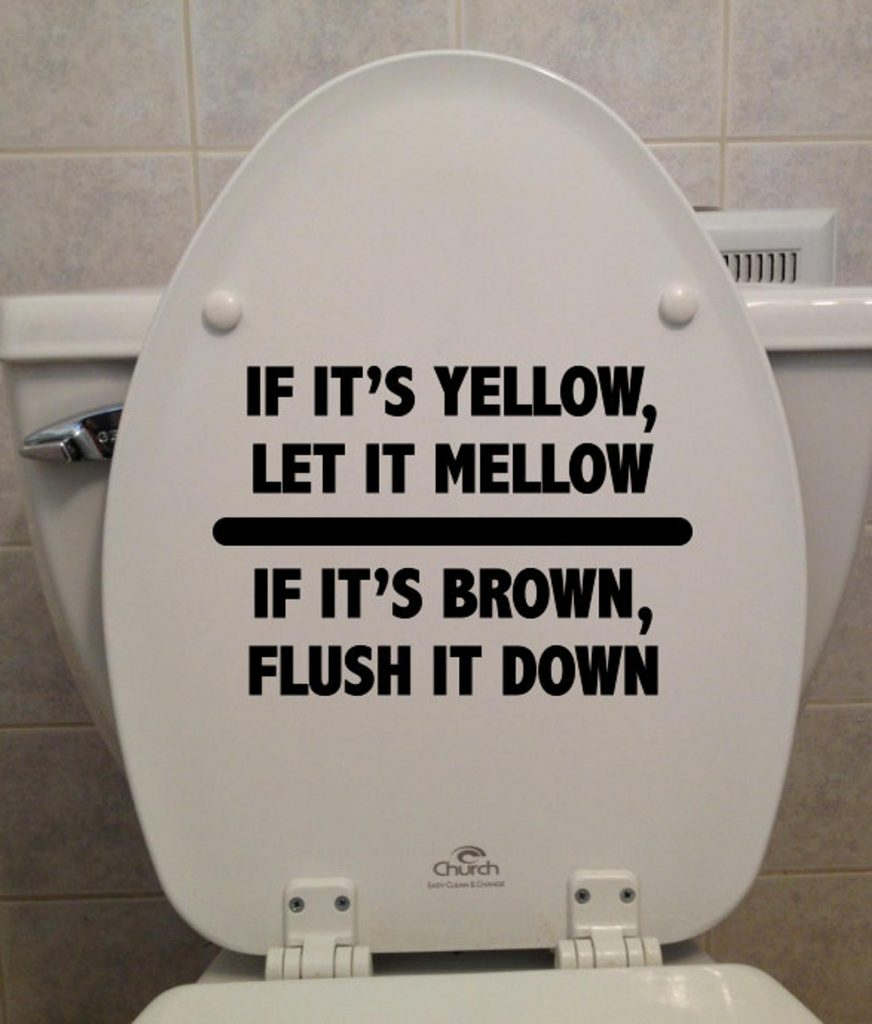 Stop Flushing Pee Down the Toilet, California! Oregon, Stop Too! California would save more than 624 million gallons of water per day if every Californian stopped flushing pee. | Jennifer Margulis, Ph.D.