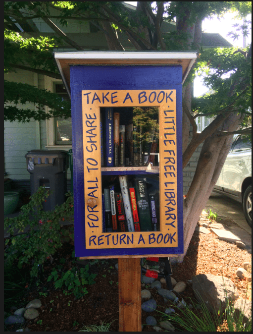 15 good things about 2015: little libraries! Via JenniferMargulis.net