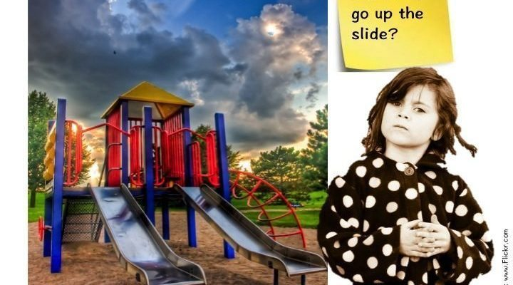 It's OK to go up the slide? A discussion with author Heather Shumaker