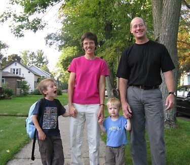Heather Shumaker and her family. Photo courtesy of Heather Shumaker.