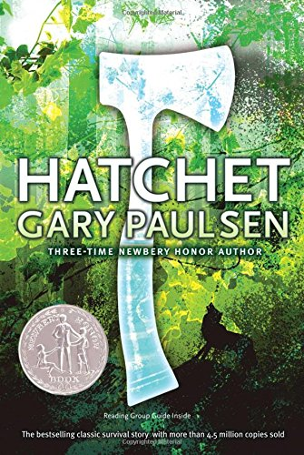 Hatchet by Gary Paulsen is among the best books for 12-year-olds