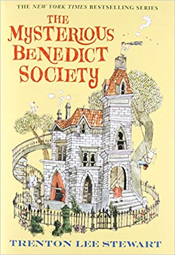 The Mysterious Benedict Society are fabulous books for 12-year-olds
