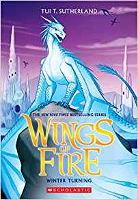 Winter Turning, part of the Dragonets of Destiny series, is a great read for 12-year-olds