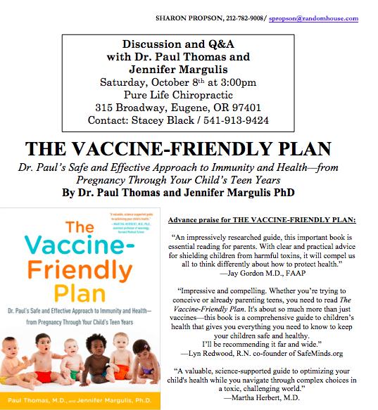 Jennifer Margulis and Paul Thomas in Eugene Oregon on October 8