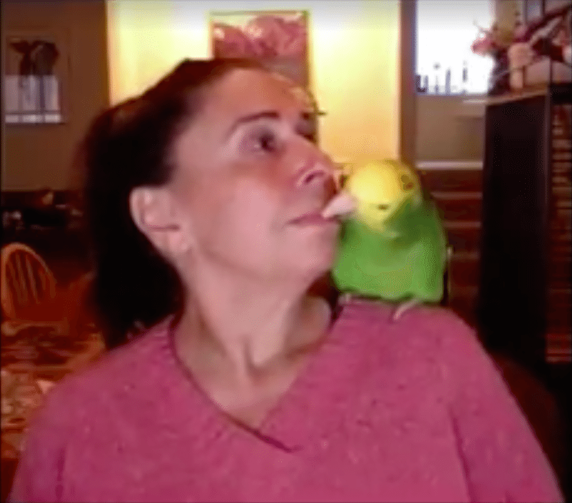 Hilary Jacobson saved her beloved parent Dulci's life by singing to him and feeding him like a mother bird would. Photo via Hilary Jacobson.