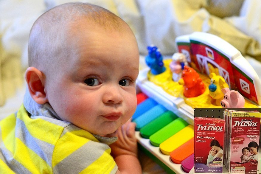 What if acetaminophen is MORE harmful for babies after birth?