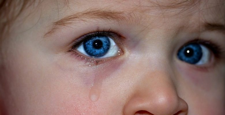 It's okay to cry. Letting children express their emotions helps them become better adjusted adults