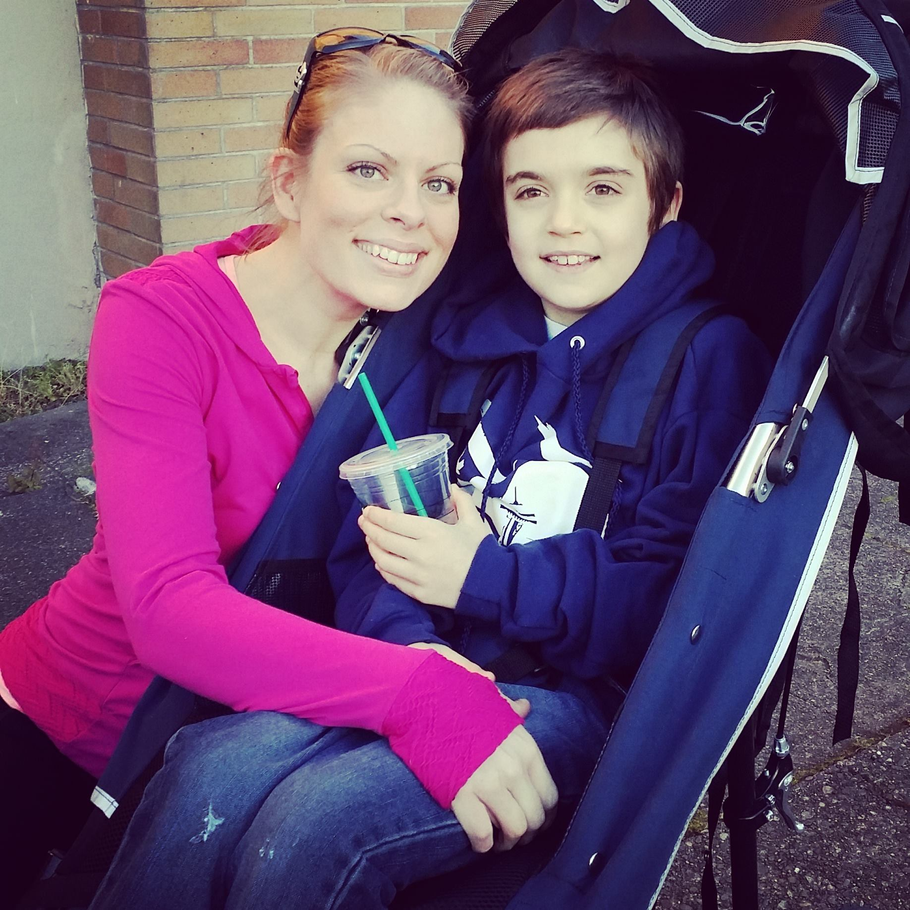 Mom with boy with autism. Do vaccines and Tylenol cause autism? This mom believes that's what happened to her son.