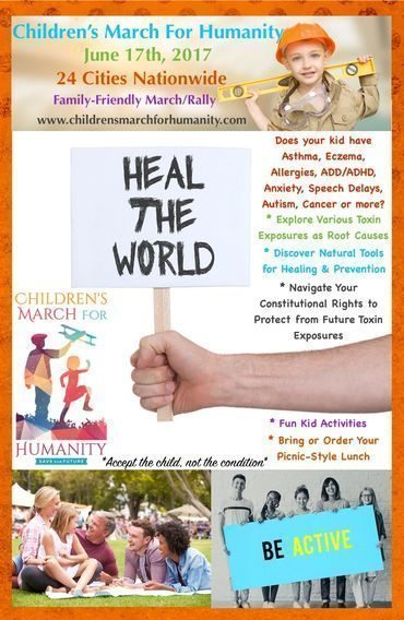Saturday June 17 is the Children's March for Humanity. Jennifer Margulis will be speaking at the march in Portland, Oregon