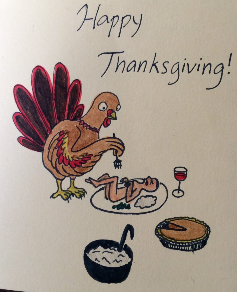 Happy Thanksgiving 2017 from Jennifer Margulis
