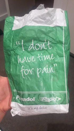 Panadol is the brand name used for acetaminophen-containing pain relievers in Australia. It's also called paracetamol, carpool, and Tylenol. This medication is toxic and harmful for babies but it is relentlessly advertised all over the world.