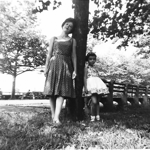Sydell Rosenberg and her daughter Amy Losak. Amy spent years trying to get her late mother's haiku picture book published. Photo courtesy of Amy Losak.