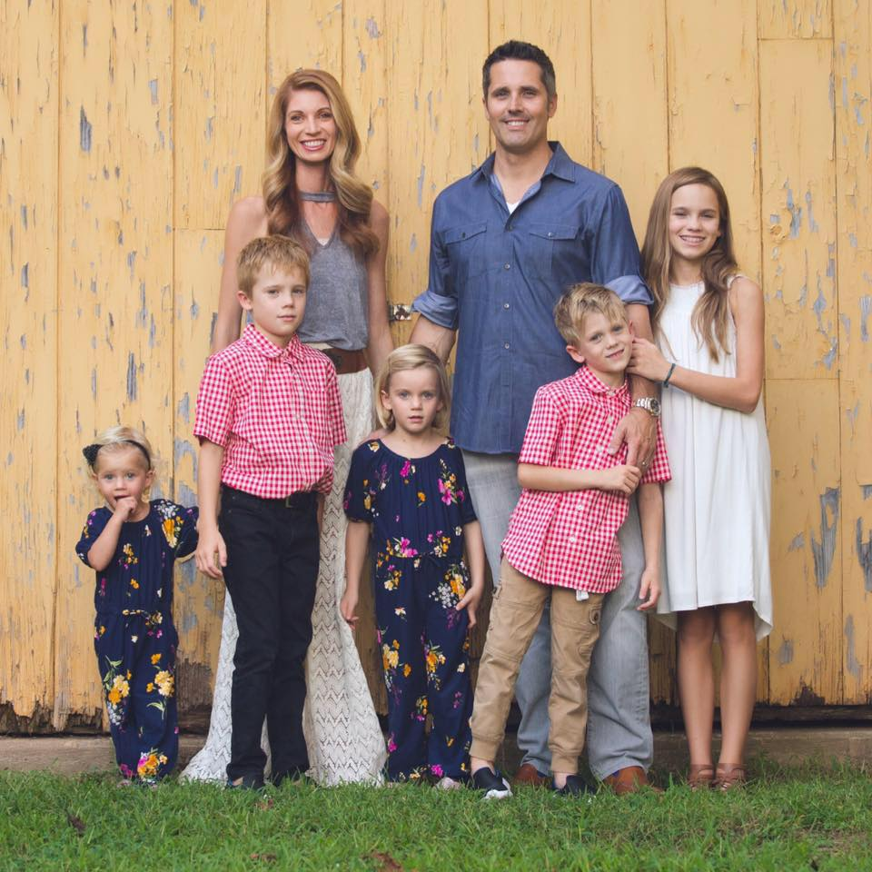 Britney Valas and her healthy happy family. Valas, the founder of Children's March for Humanity, urges parents to educate themselves about vaccine decisions