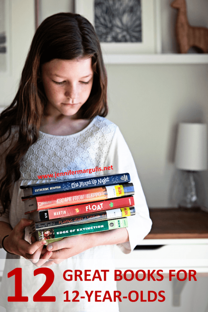 12 great books for 12-year-olds, recommendations from Jennifer Margulis, Ph.D.