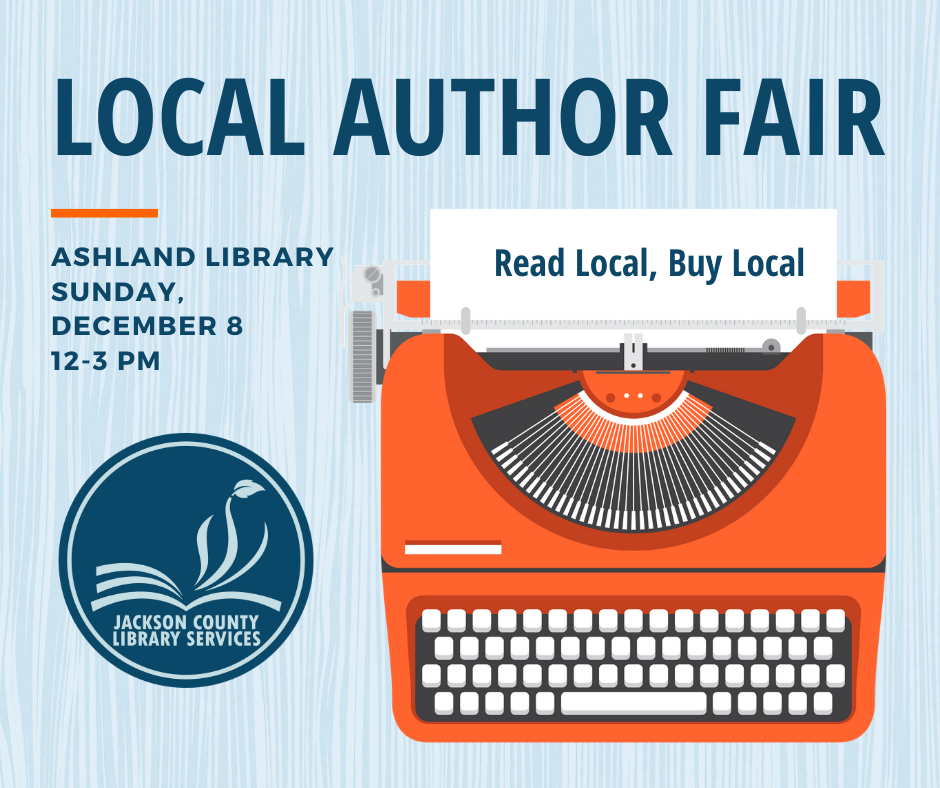 The Ashland Local Author Fair is a great way to shop local and network with successful writers | Jennifer Margulis