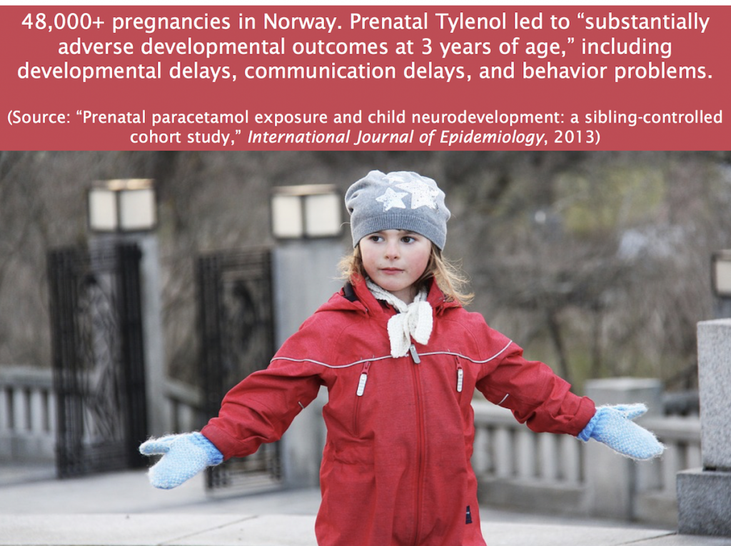 Tylenol and autism are linked in this Norwegian study