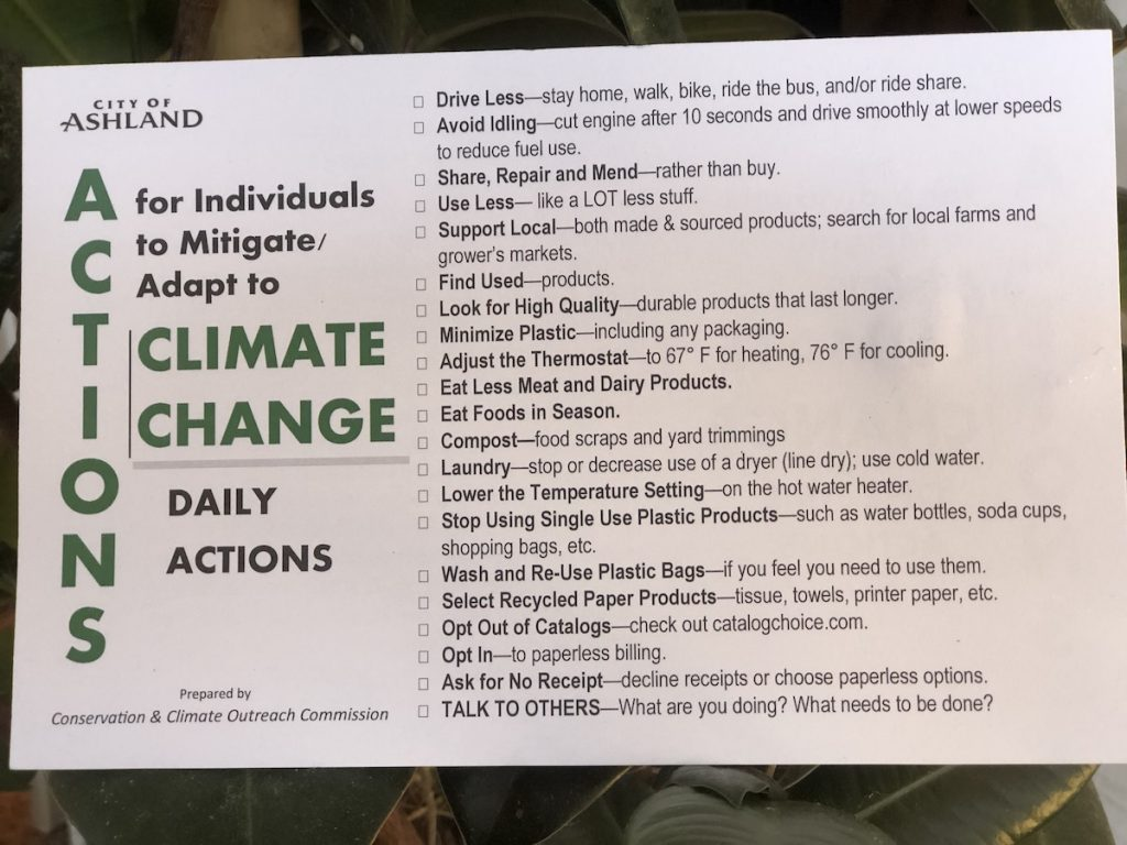 Climate change mitigation: small actions really do make a big difference! | www.JenniferMargulis.net