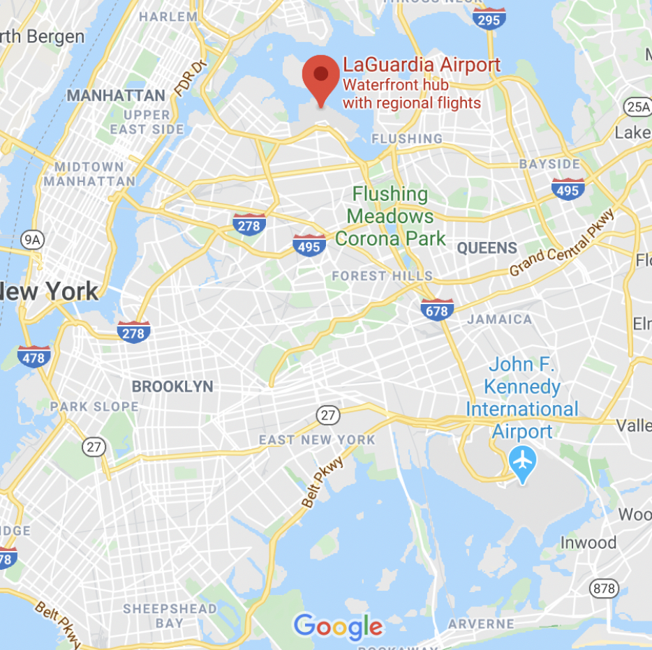 Figure 1: Map of the area around Queens, New York. Via Google Maps. Stephanie Seneff discusses the glyphosate and COVID-19 connection | Jennifer Margulis