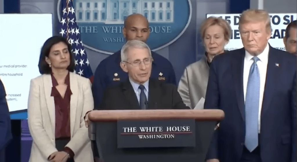On March 16, 2020 the White House announced that a coronavirus vaccine trial with humans was about to begin. | Jennifer Margulis, Ph.D.
