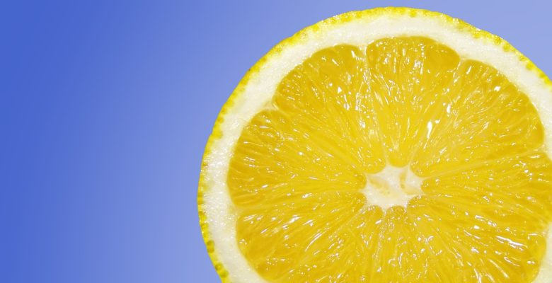 Natural treatments for coronavirus. Try these vitamins and supplements to help beat COVID-19. Photo of a lemon slice on a blue background courtesy of Pixabay.   Jennifer Margulis, Ph.D.
