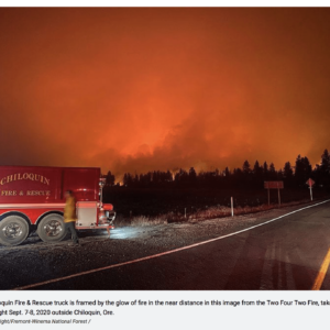 Wildfires in southern Oregon spurring worry, evacuations. Is this the new climate reality? Via Jennifer Margulis, Ph.D.