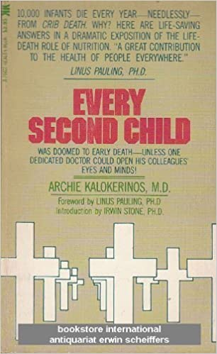 Unvaccinated children are healthier than vaccinated children. Book cover of Every Second Child.